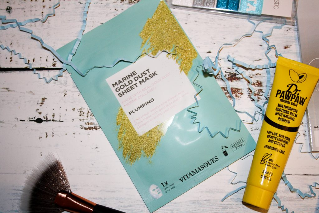 Vitamasques Gold Dust Sheet Mask