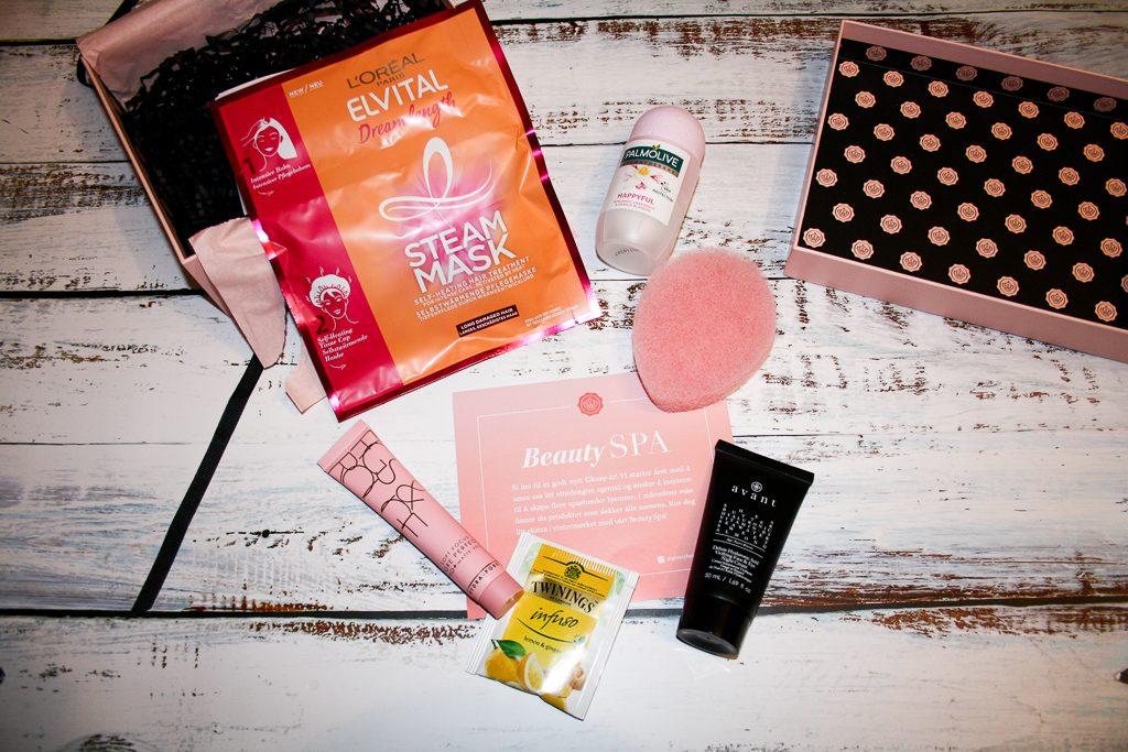 Glossybox Beauty Spa Januar 2019