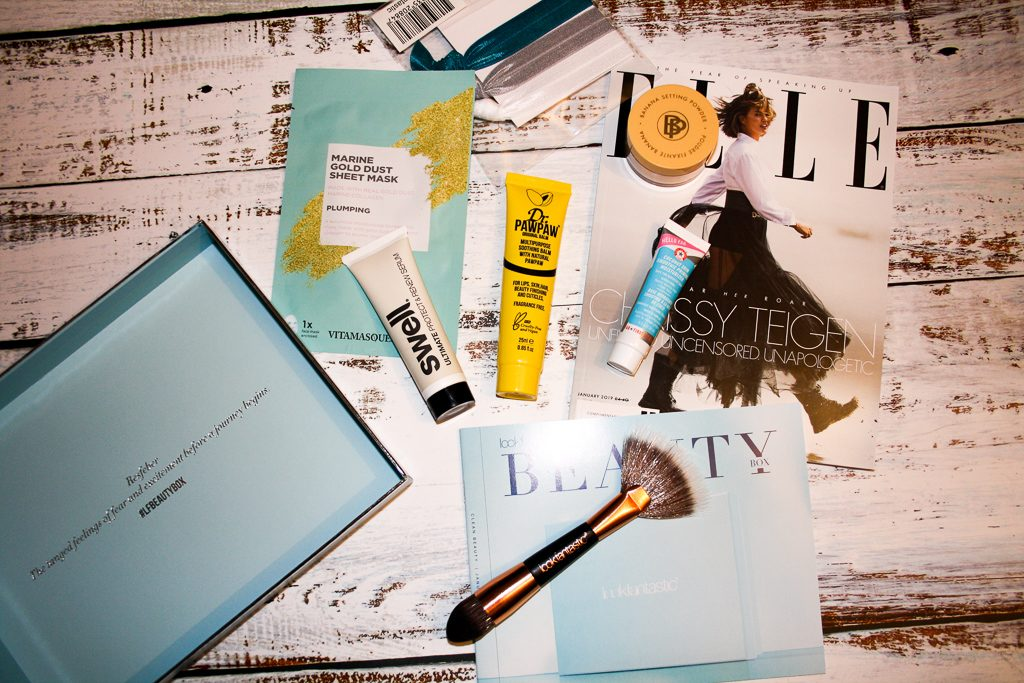 Lookfantastic Clean Bauty Januar 2019