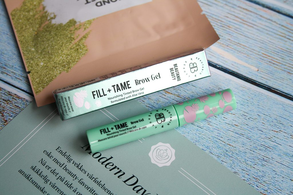 Beautaniq Beauty Fill + Tame Brow Gel Clear