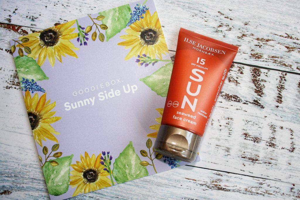 Ilse Jacobsen Seaweed Sun Face Cream SPF 15