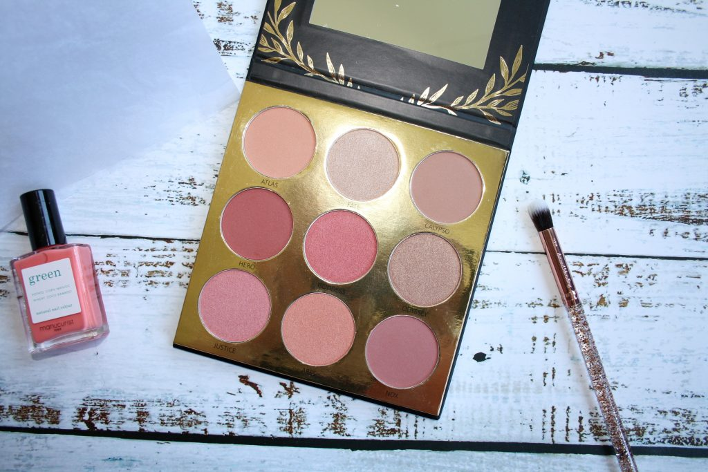 Laritzy Cosmetics Athena Eyeshadow Collection